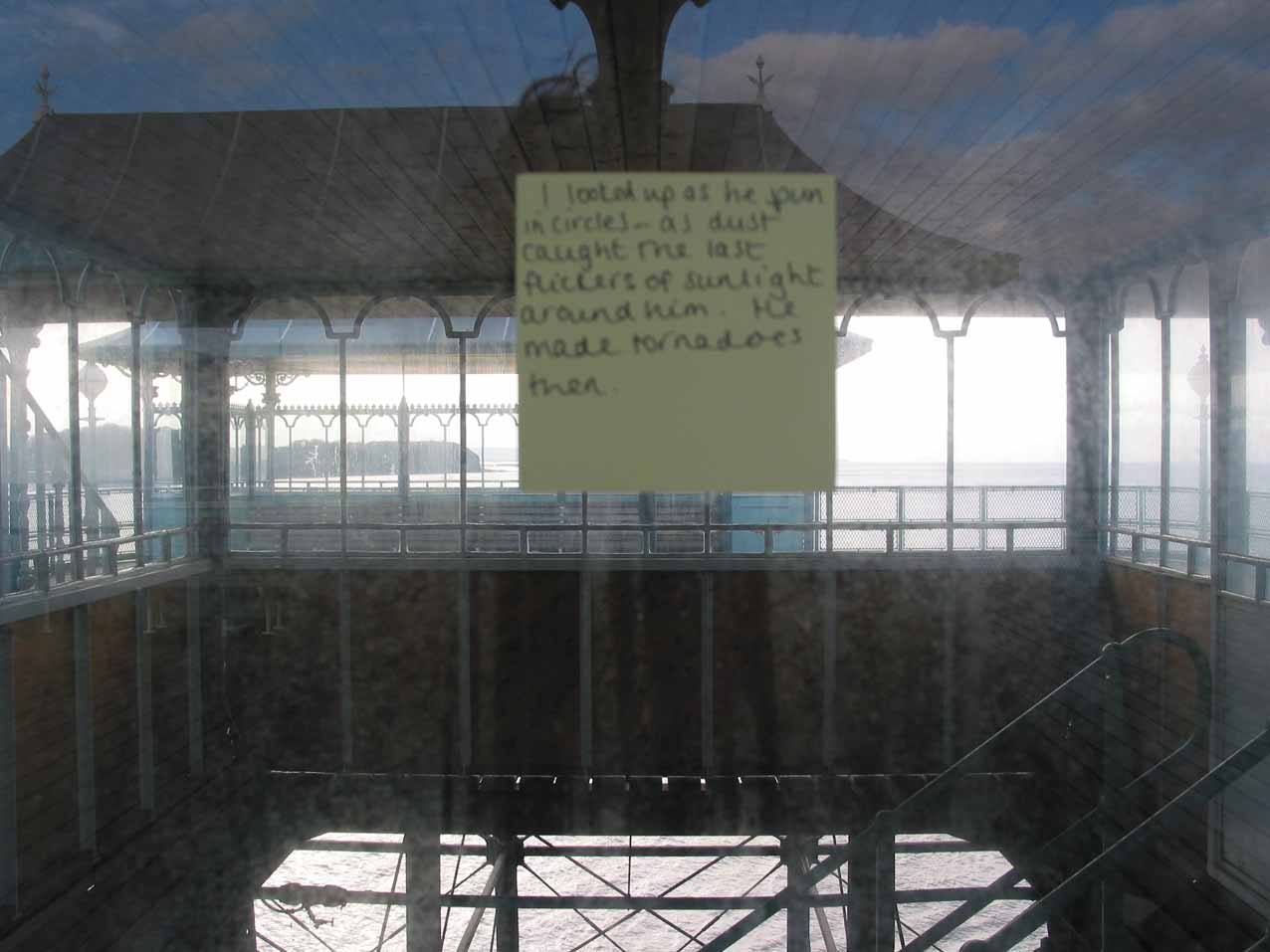 Post-It note, Clevedon, 2002